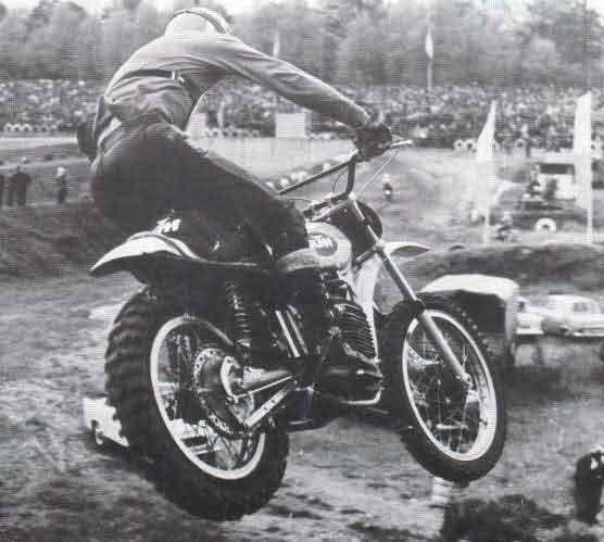 histoire de la moto cross